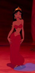 Disney's Jasmine. An example of the exotic and sexualised portrayal of WoC in western media.
